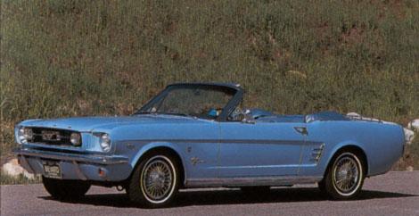1966 Conv. Columbine Blue