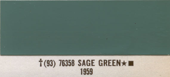 1966 Timberline Green