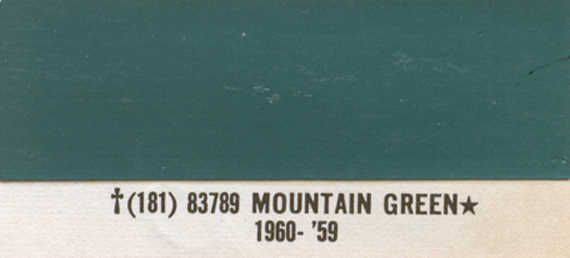 1967 Timberline Green